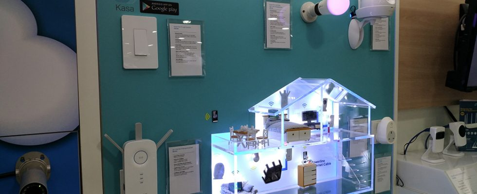 TP-Link Smart Home products on display