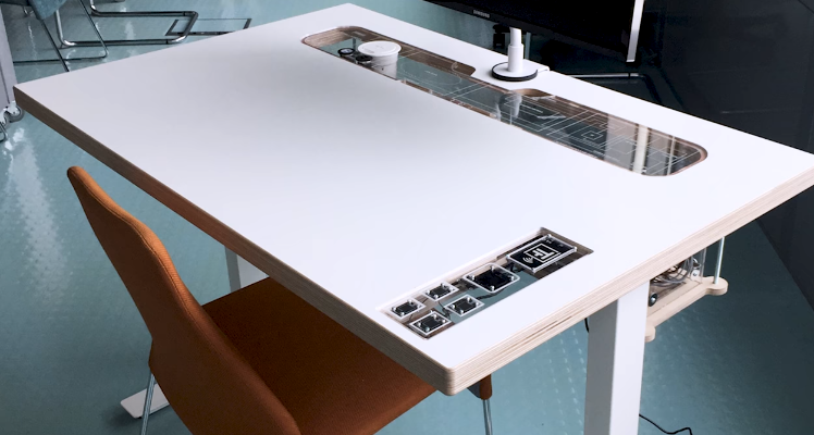 differently 96f43 7aa60 More than a smart desk - A desk that conforms to individual ...